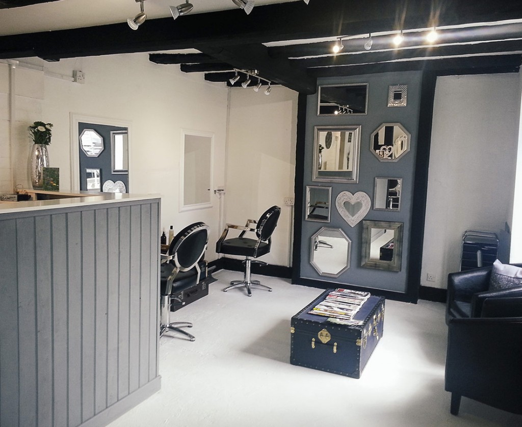 Interior of Crawford & Jaynes Organic Hairdressing